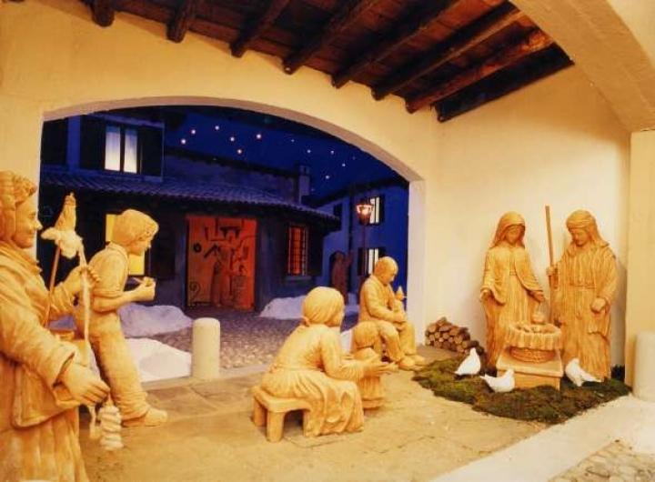 Presepi di Natale a Udine Foto